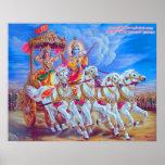 Mahabharat - Lord Krishna & Arjun Posters