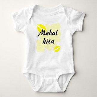Mahal Kita - Filipino I love you Baby Bodysuit