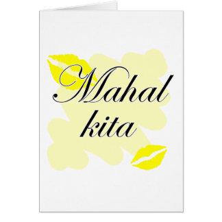 Mahal Kita - Filipino I love you Greeting Card