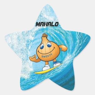 MAHALO STAR STICKERS