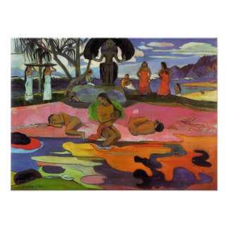 'Mahana No Atua' - Paul Gauguin Print
