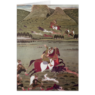 Maharana Jawan Singh Greeting Card