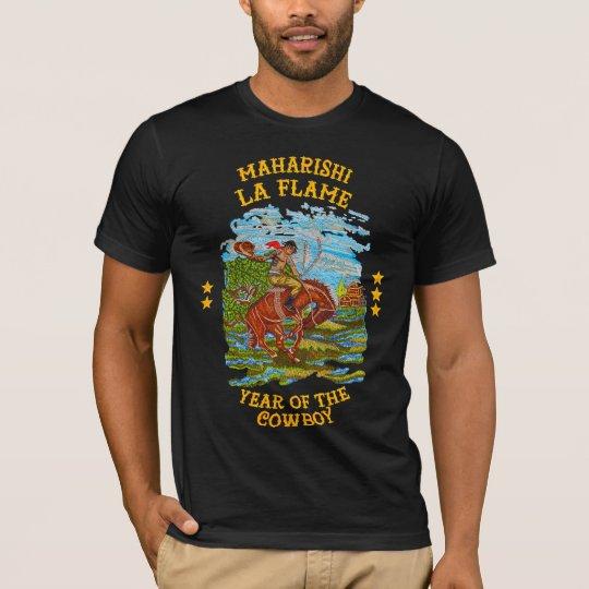 d589fce85184 Maharishi La Flame Travis Scott T-Shirt | Zazzle.co.uk