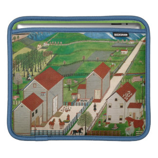 Mahatango Valley Farm, late 19th century iPad Sleeve