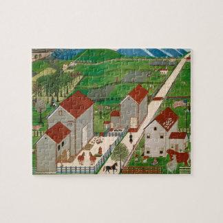 Mahatango Valley Farm, late 19th century Jigsaw Puzzle