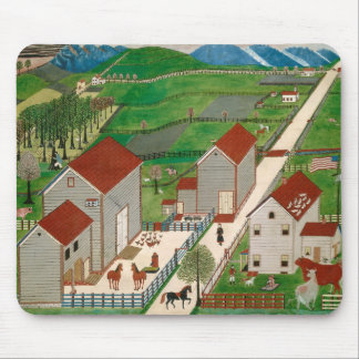 Mahatango Valley Farm, late 19th century Mouse Mat