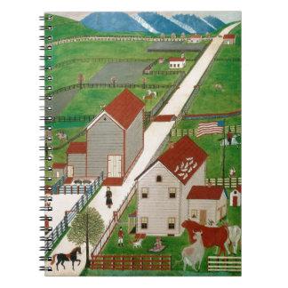 Mahatango Valley Farm, late 19th century Notebook