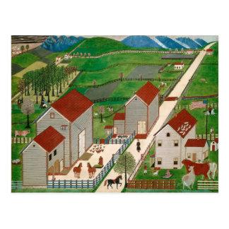 Mahatango Valley Farm, late 19th century Postcard