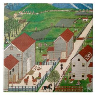 Mahatango Valley Farm, late 19th century Tile