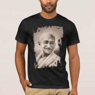 Mahatma Gandhi Black T-Shirt