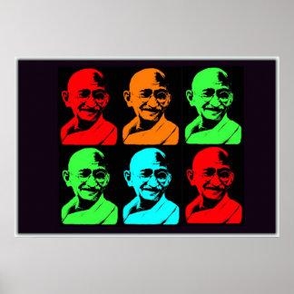 Mahatma Gandhi Collage Posters