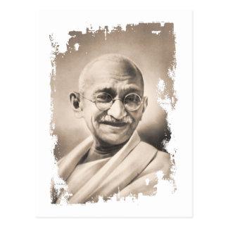 Mahatma Gandhi Gift Postcard