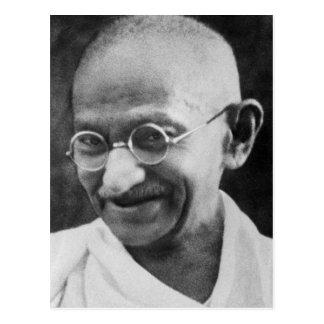 Mahatma Ghandi Portrait Photograph Postcard