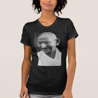 Mahatma Ghandi Portrait Photograph T Shirts