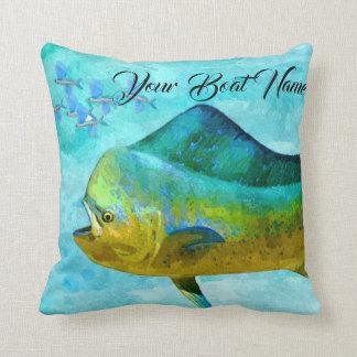 Mahi custom pillow