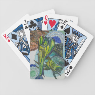 Mahi mahi bicycle playing cards
