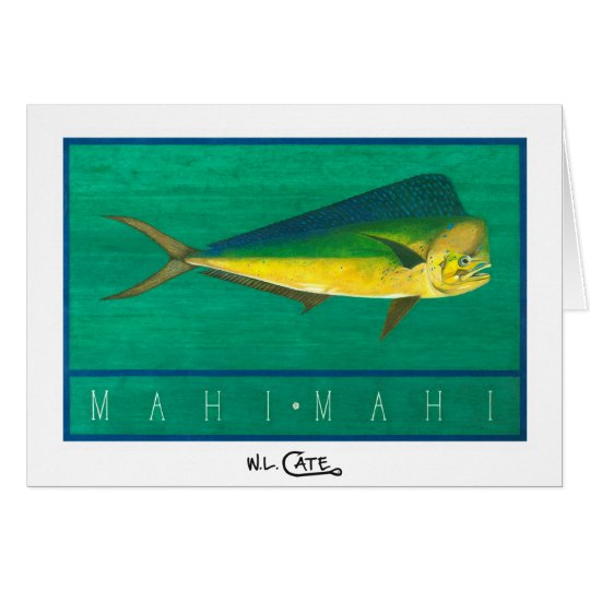 Mahi-Mahi Greeting & Note Cards