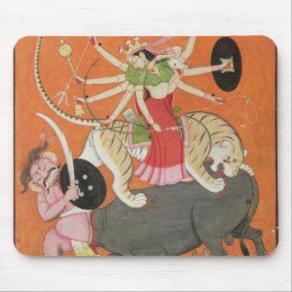 'Mahishasuramardini', from the 'Devimahatmya of Ma Mouse Mat