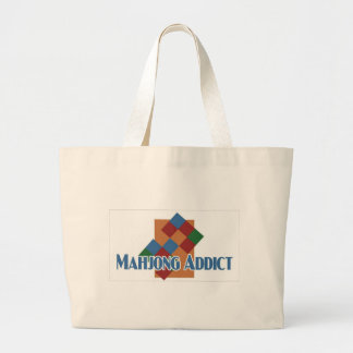 Mahjong Addict's beach bag