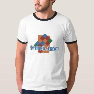 Mahjong Addict's ringer-t T-Shirt