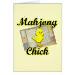 Mahjong Chick #2 Card