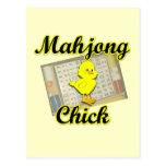 Mahjong Chick #2 Postcards