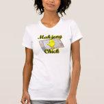Mahjong Chick #2 Tee Shirts
