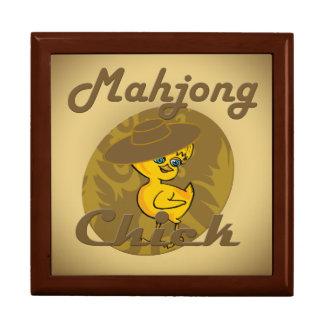 Mahjong Chick #6 Large Square Gift Box