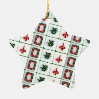 Mahjong Dragons Christmas Ornament
