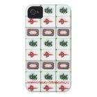 Mahjong-dragons iPhone 4 Case