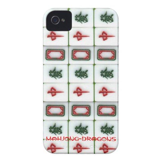 Mahjong-dragons iPhone 4 Covers