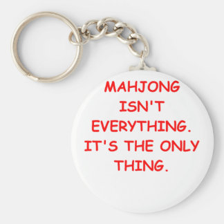 mahjong key ring