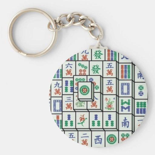 mahjong keychains