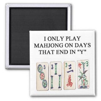 mahjong lover magnet