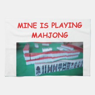 MAHJONG TEA TOWEL