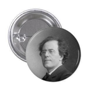 mahler 3 cm round badge