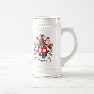 Mahler Family Crest Coffee Mug
