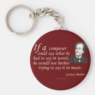 Mahler on Composing Keychain