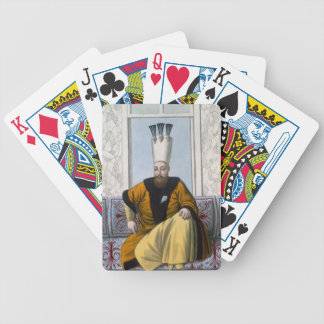 Mahmud I (1696-1754) Sultan 1730-54, from 'A Serie Bicycle Playing Cards