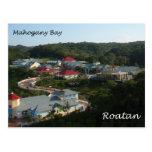 Mahogany Bay, Roatan Post Card