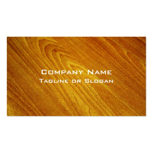 Mahogany Business Card Template