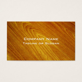 Mahogany Business Card