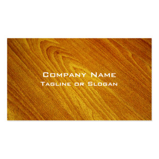 Mahogany Pack Of Standard Business Cards