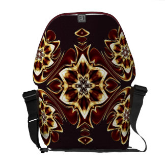 Mahogany Rose Med tote Messenger Bag