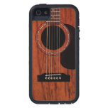 Mahogany Top Acoustic Guitar iPhone 5 Case