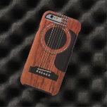 Mahogany Top Acoustic Guitar iPhone 6 Case