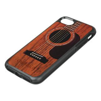 Mahogany Top Acoustic Guitar OtterBox Symmetry iPhone 8/7 Case