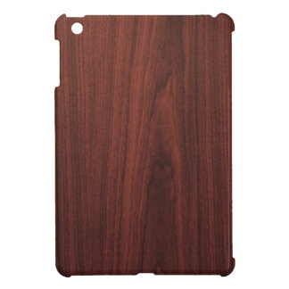 Mahogany Wood Texture iPad Mini Covers