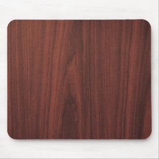 Mahogany Wood Texture Mouse Mat