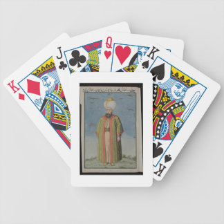 Mahomet (Mehmed) I (1387-1421), Sultan 1413-21, fr Bicycle Playing Cards